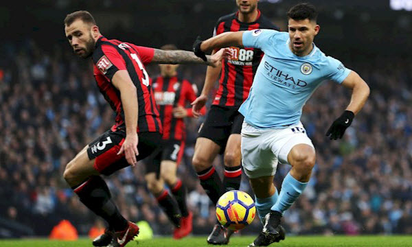 AFC Bournemouth vs Manchester City 25/08/2019 20h00